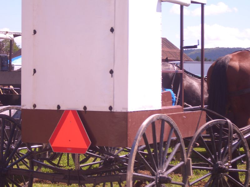 Nebraska Amish buggy