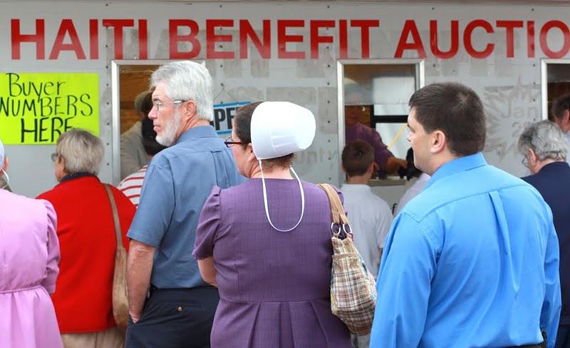 Haiti amish auction